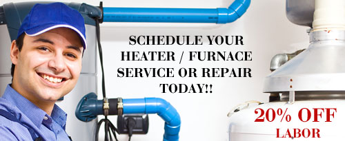 Save 20% on Heater and Furnace Repair